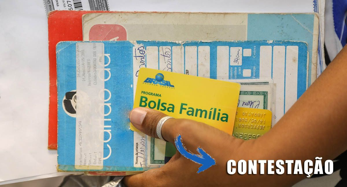 CONTESTAÇÃO para BENEFICIÁRIOS do BOLSA FAMÍLIA