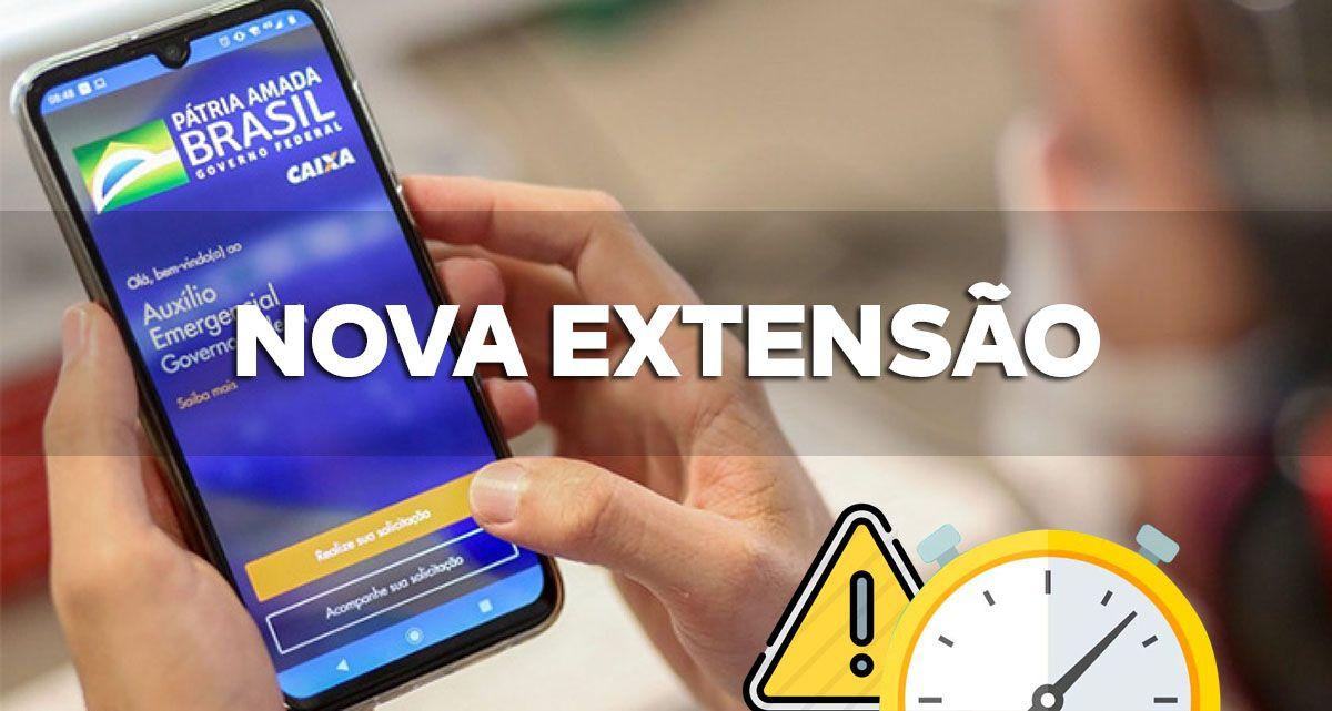 NOVA PRORROGAÇÃO do Auxílio Emergencial pagará BENEFÍCIO até 31/03/2021