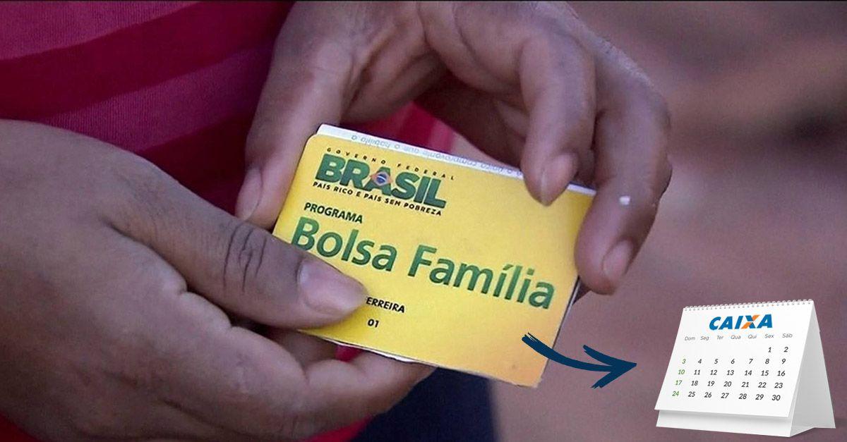NOVO CALENDÁRIO do BOLSA FAMÍLIA 2021