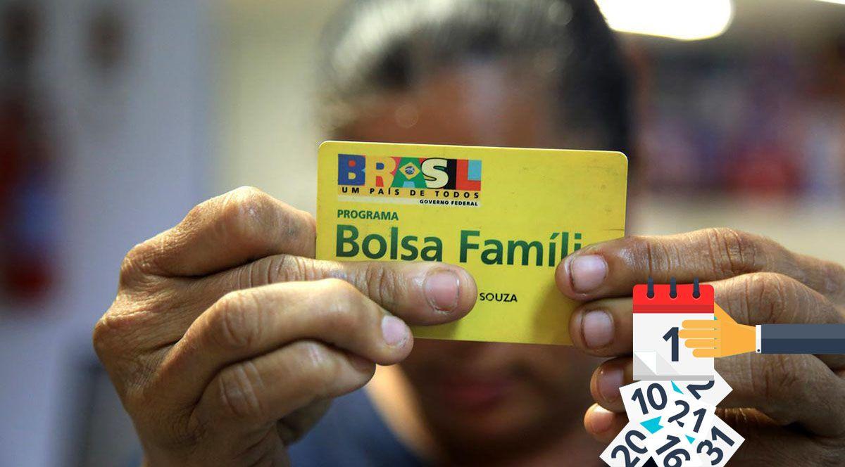 Novo CALENDÁRIO do BOLSA FAMÍLIA JANEIRO DE 2021