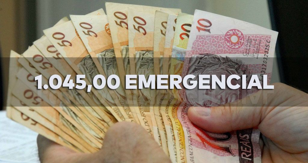 VALOR de até R$1.045 EMERGENCIAL pode ser SACADO somente até o FIM de DEZEMBRO