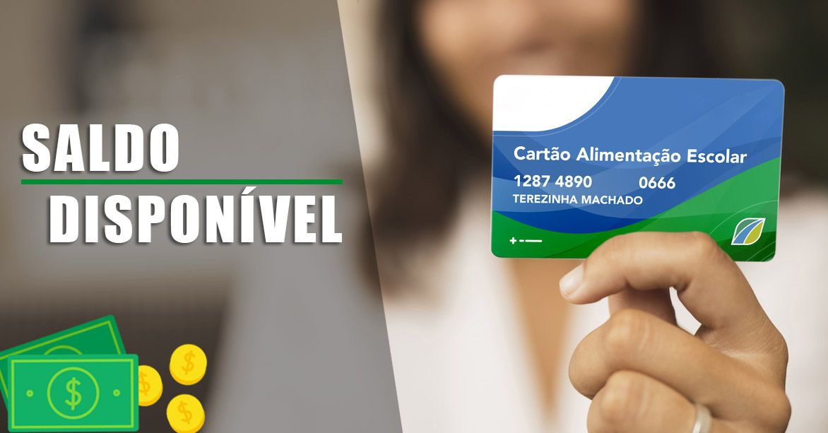 Benefício do Cartão Alimentação Escolar tem SALDO de R$ 75,00 DISPONÍVEL