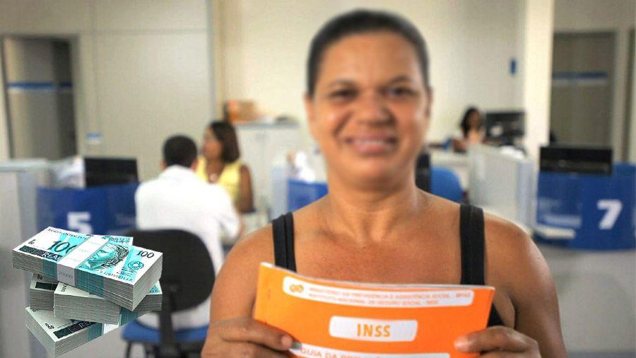 Donas de CASA RECEBEM Benefício do INSS com VALOR de até R$ 1.100