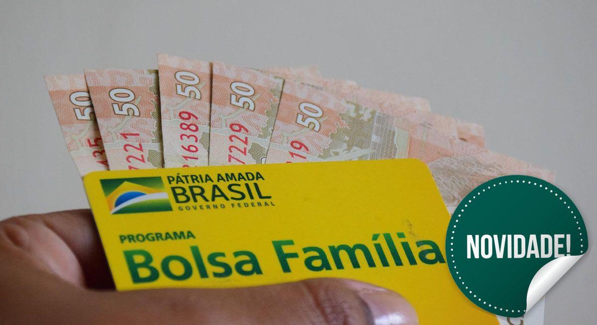 Novidade no BOLSA FAMÍLIA em 2021