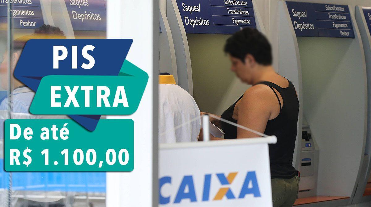 Novo PIS EXTRA EMERGENCIAL em 2021 com VALOR de até R$ 1.100
