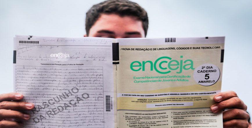 Provas do ENCCEJA 2020 estão com INSCRIÇÕES ABERTAS