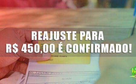 REAJUSTE no BOLSA FAMÍLIA para R$ 450,00 é CONFIRMADO! AUMENTO foi APROVADO em JANEIRO de 2021: Veja quem TEM DIREITO