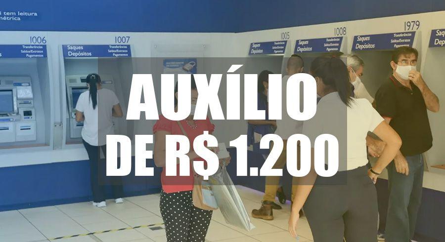 5 PARCELAS de R$1200 do Auxílio Emergencial para MÃES