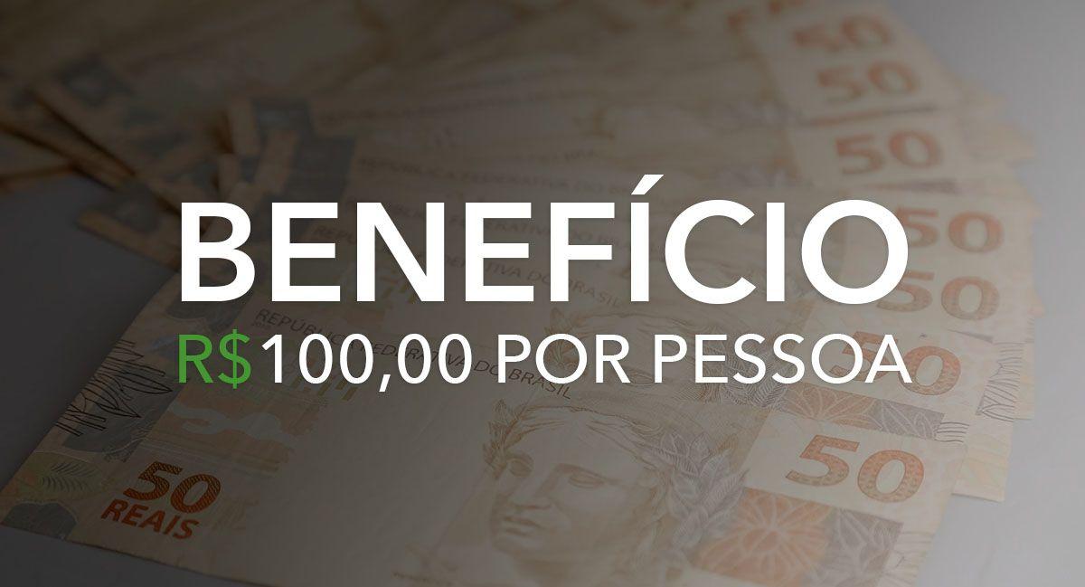 APROVADO! Renda Básica Emergencial com VALOR de R$ 100,00 por PESSOA