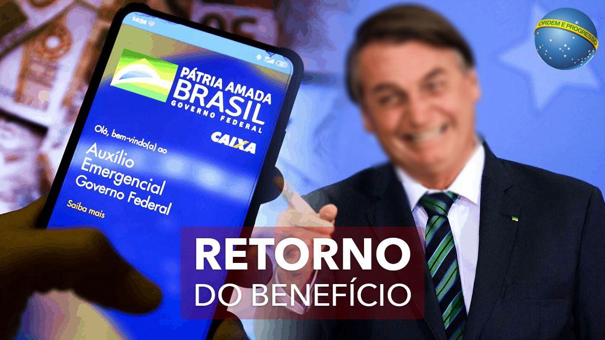 Auxílio Emergencial LIBERADO a partir de MARÇO!