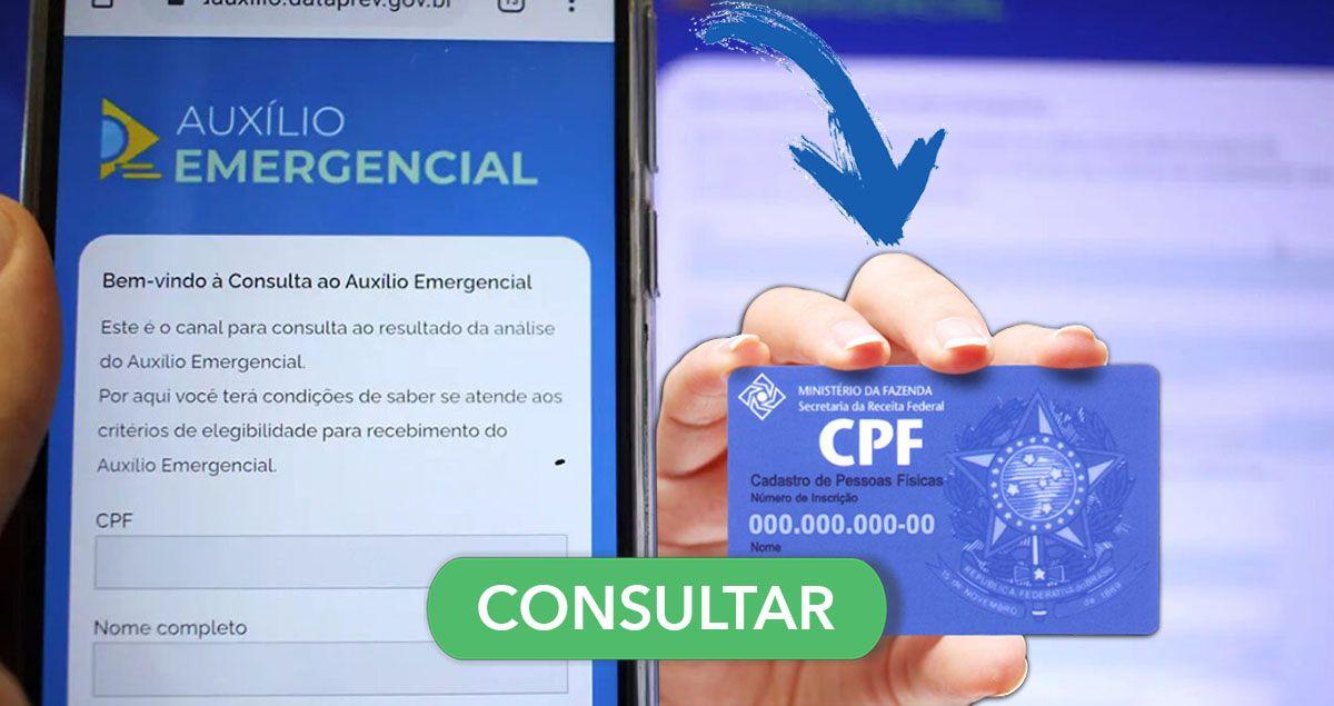CONSULTA pelo CPF mostra QUANTO você vai RECEBER do Auxílio Emergencial em 2021