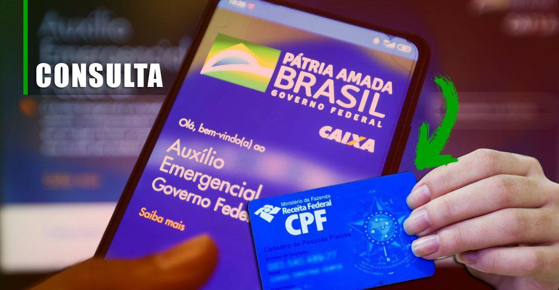 CPF LIBERA CONSULTA aos VALORES do Auxílio de R$ 300,00 em 2021