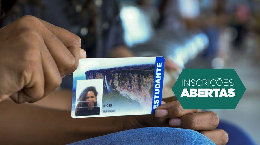 Cartão do ESTUDANTE 2021 está com INSCRIÇÕES ABERTAS