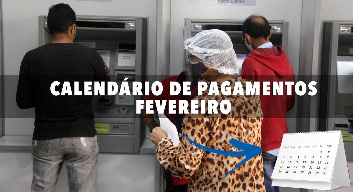 FGTS, PIS/Pasep, NOVO BOLSA FAMÍLIA e 13° do INSS em FEVEREIRO