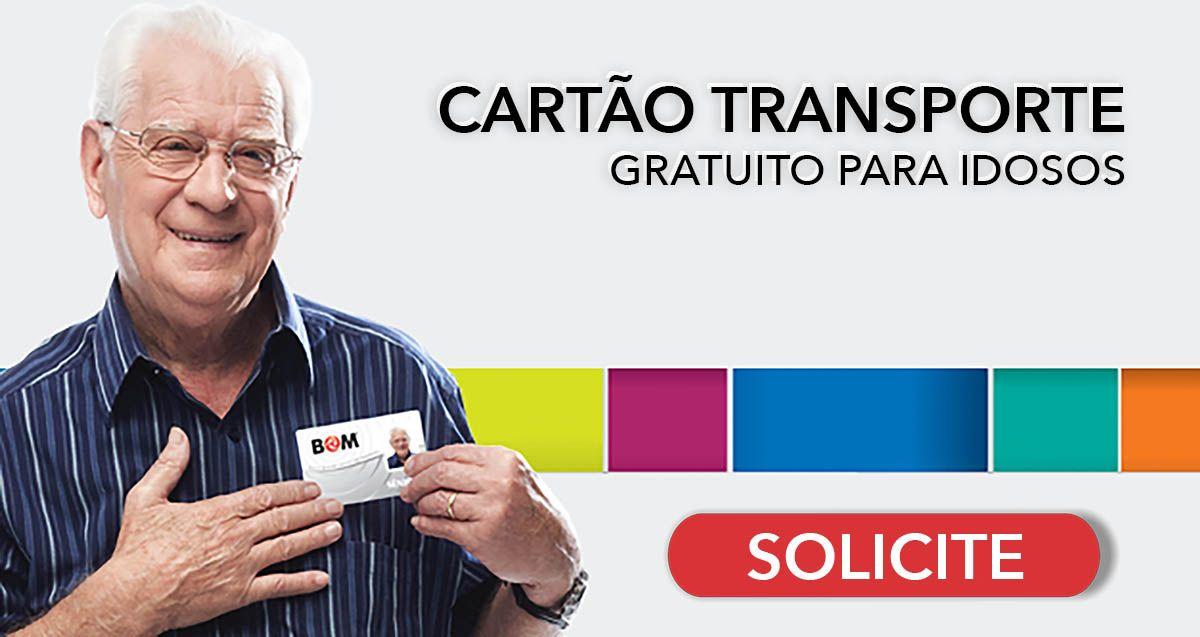 Idosos podem SOLICITAR CARTÃO TRANSPORTE PÚBLICO em 2021