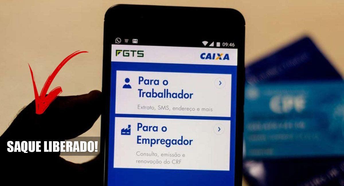 LIBERADO SAQUE ANIVERSÁRIO do FGTS em 2021