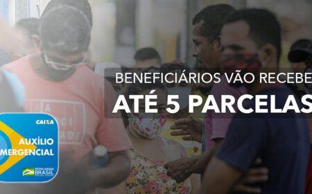NOVOS APROVADOS no Auxílio Emergencial vão RECEBER até 5 PARCELAS de R$600 a partir de FEVEREIRO: Veja se você está na LISTA! CONSULTE pelo CPF