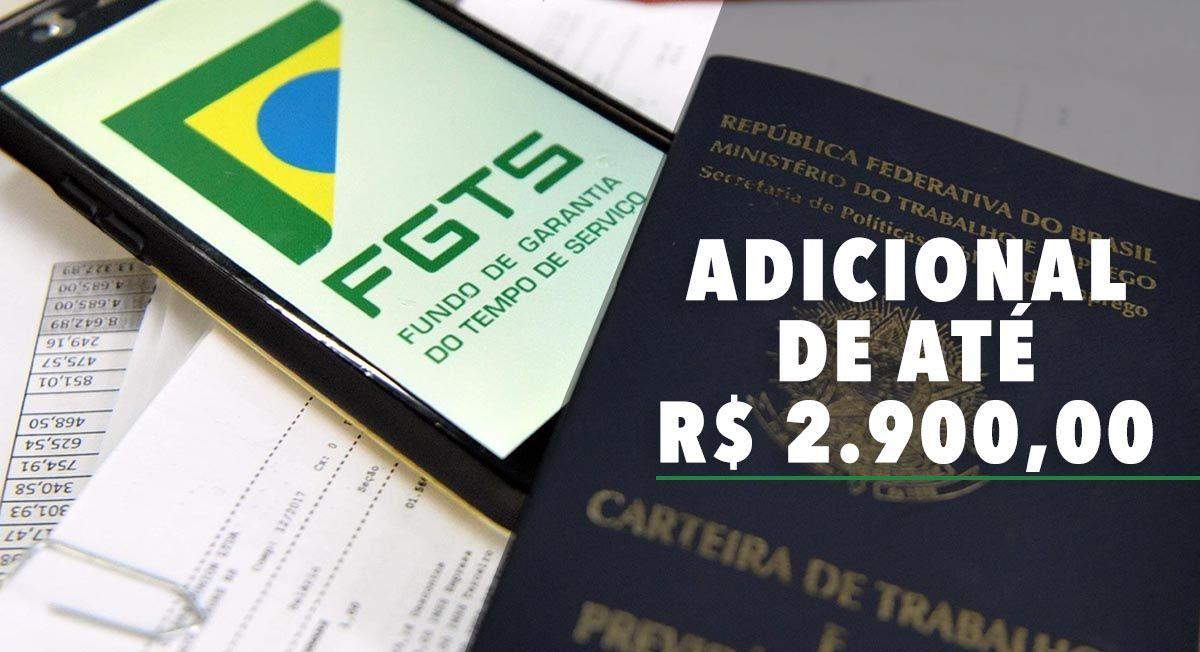 Veja o CALENDÁRIO do FGTS em FEVEREIRO com ADICIONAL de até R$ 2.900