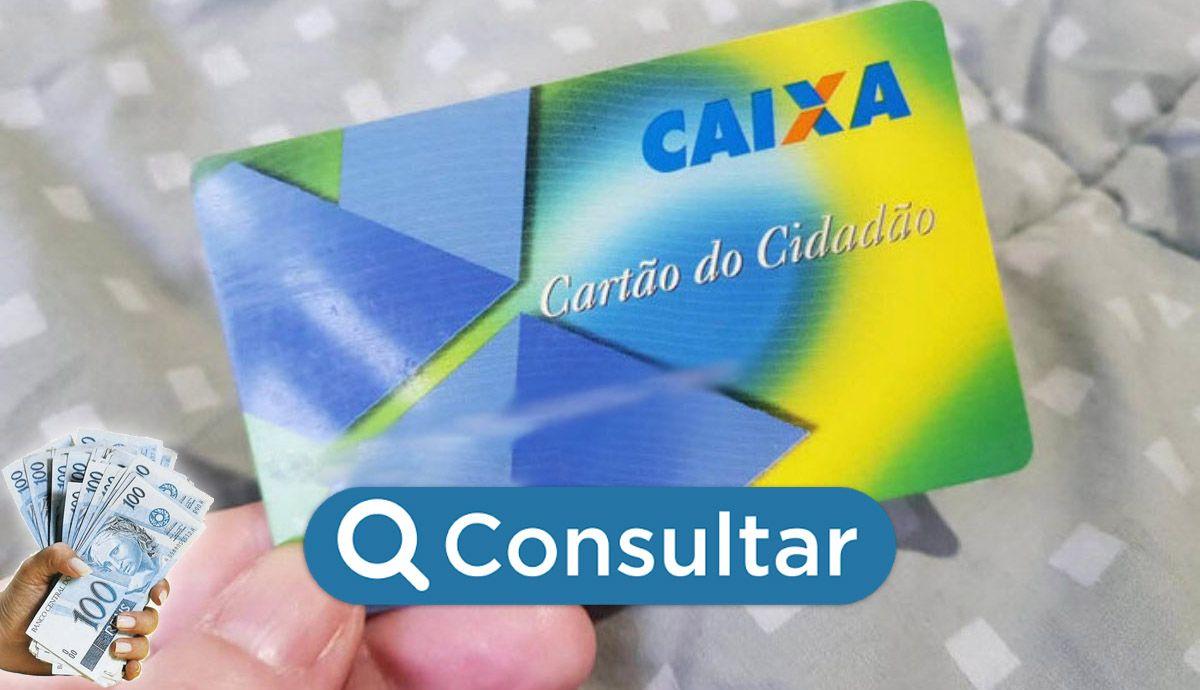 ABERTA a CONSULTA do SALDO CARTÃO CIDADÃO
