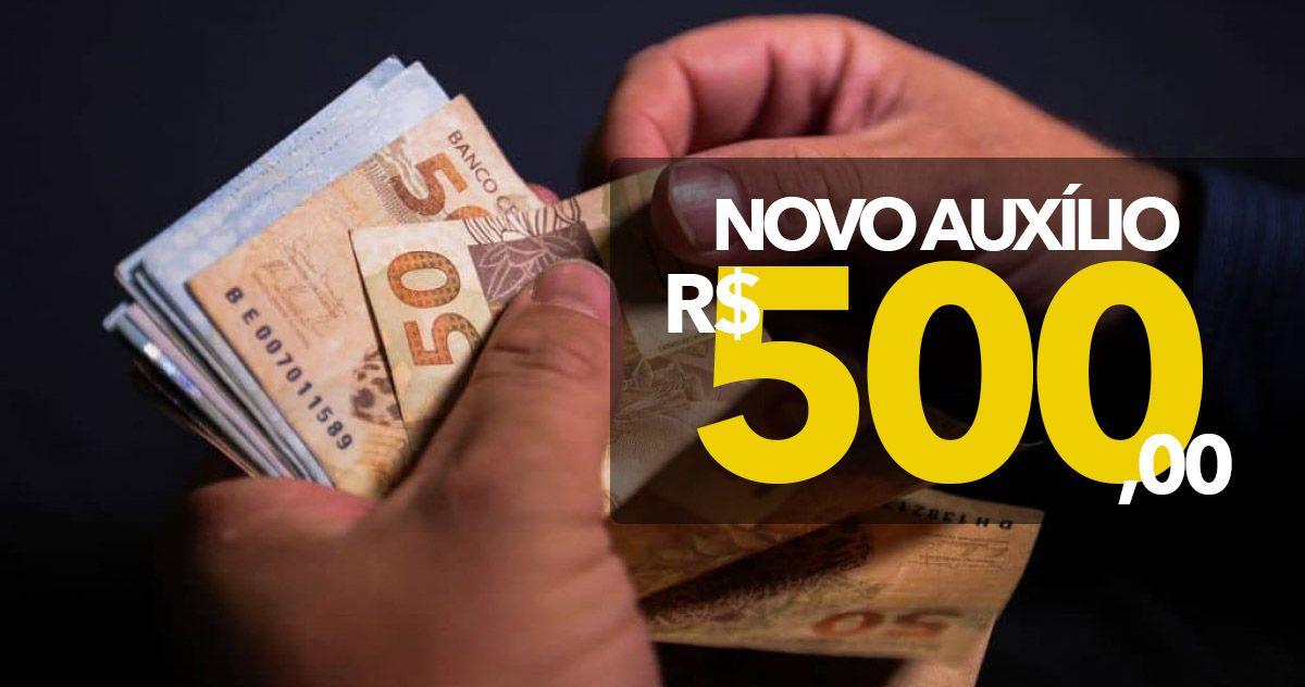 ABERTAS as INSCRIÇÕES para POPULAÇÃO SOLICITAR o NOVO Auxílio de R$ 500,00 do GOVERNO