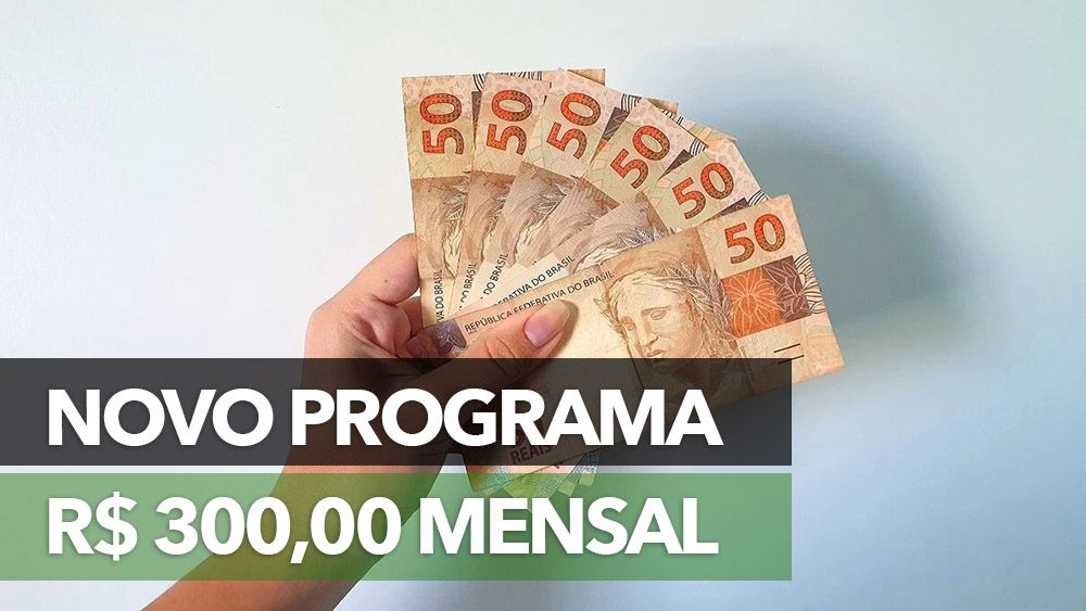 APROVADO! Novo PROGRAMA pagará até R$ 300,00 para FAMÍLIAS