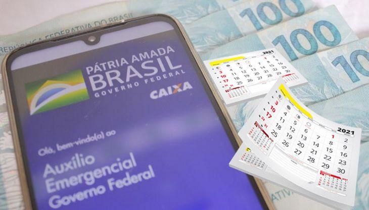 Auxílio Emergencial de até R$375,00 com CALENDÁRIO e LIBERAÇÃO em MARÇO
