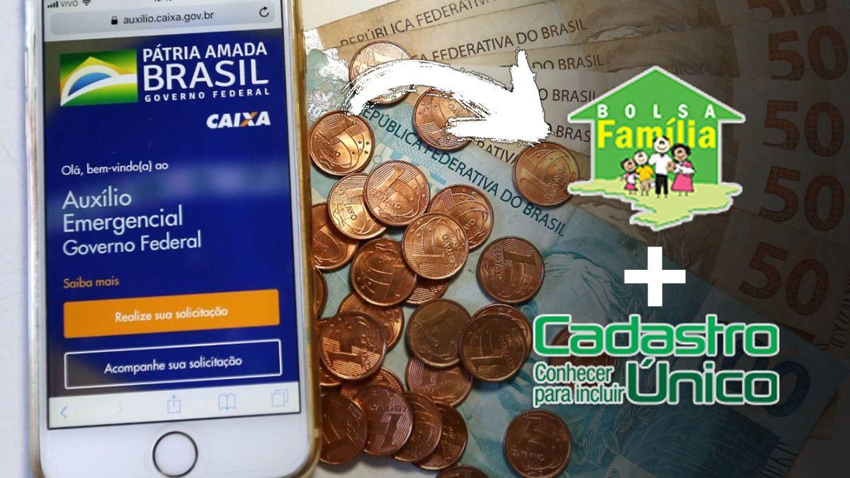 Auxílio Emergencial em MARÇO para INSCRITOS no CadÚnico e BOLSA FAMÍLIA