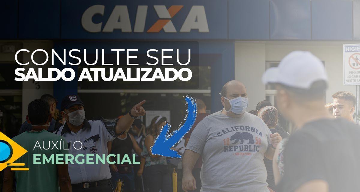 Auxílio em ABRIL: portal de CONSULTA pelo CPF confirma SALDO ATUALIZADO