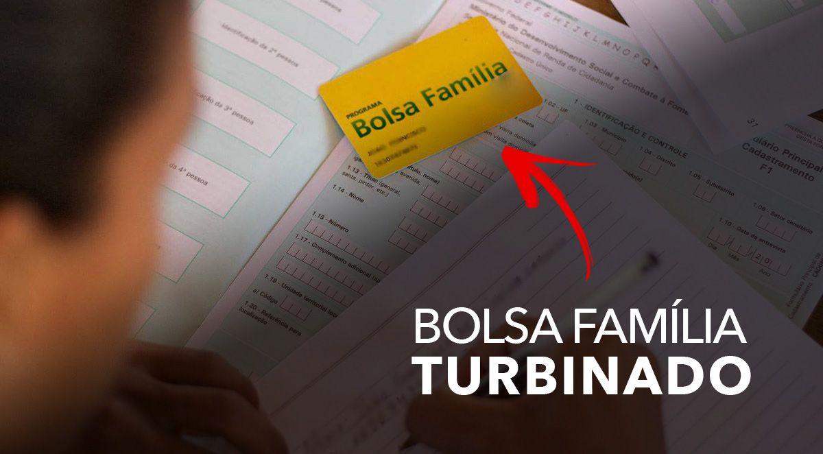 BOLSA FAMÍLIA TURBINADO! Após 4 PARCELAS de R$ 250,00