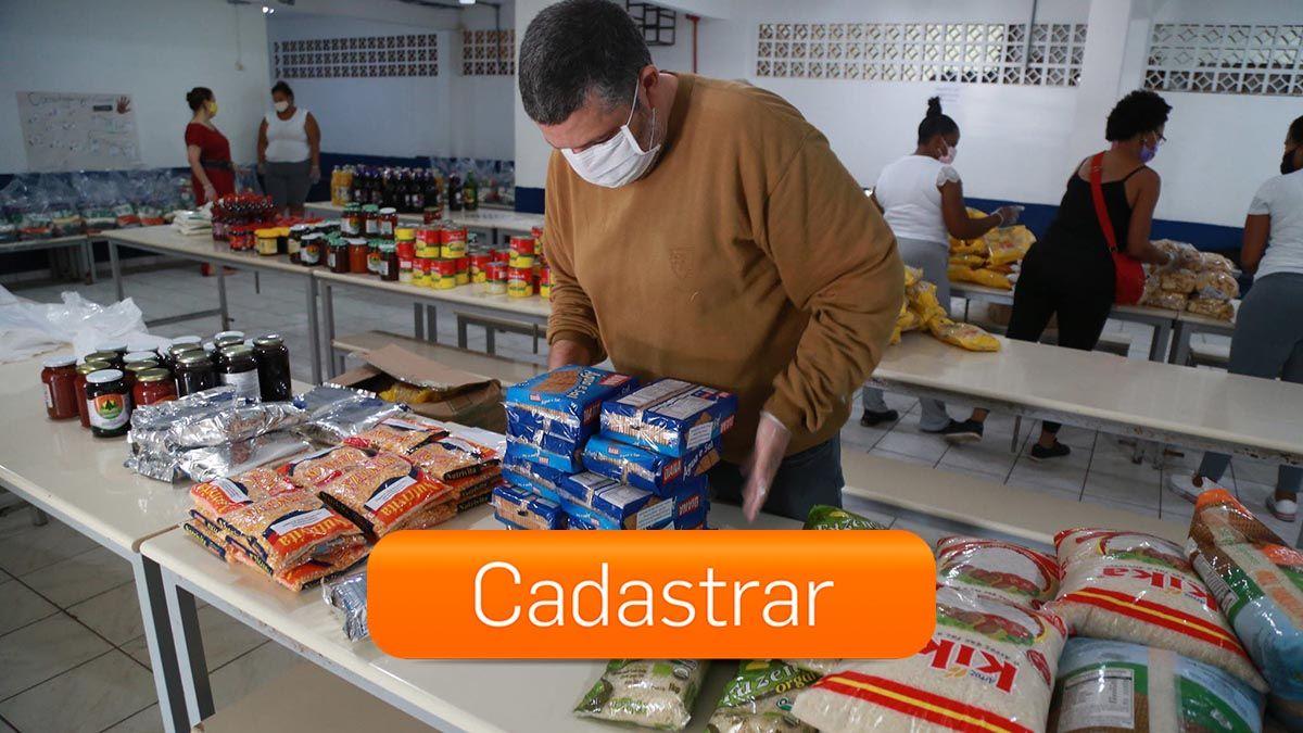 CADASTRO ONLINE para DISTRIBUIÇÃO de Kit-alimentação da REDE MUNICIPAL de ENSINO