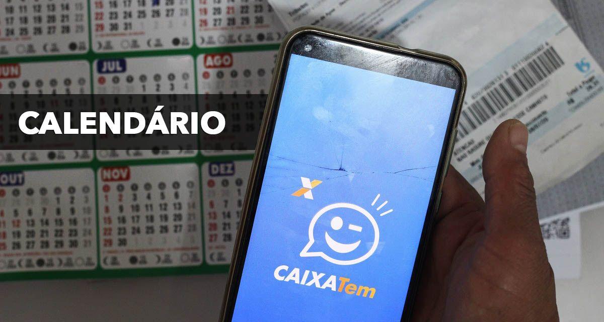 CALENDÁRIO Caixa Tem Auxílio Emergencial