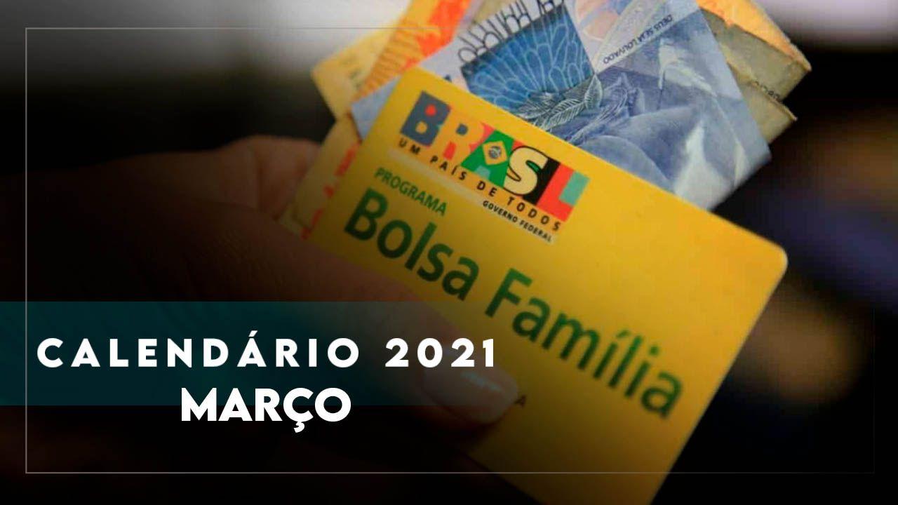 CALENDÁRIO de MARÇO do BOLSA FAMÍLIA tem NOVIDADES