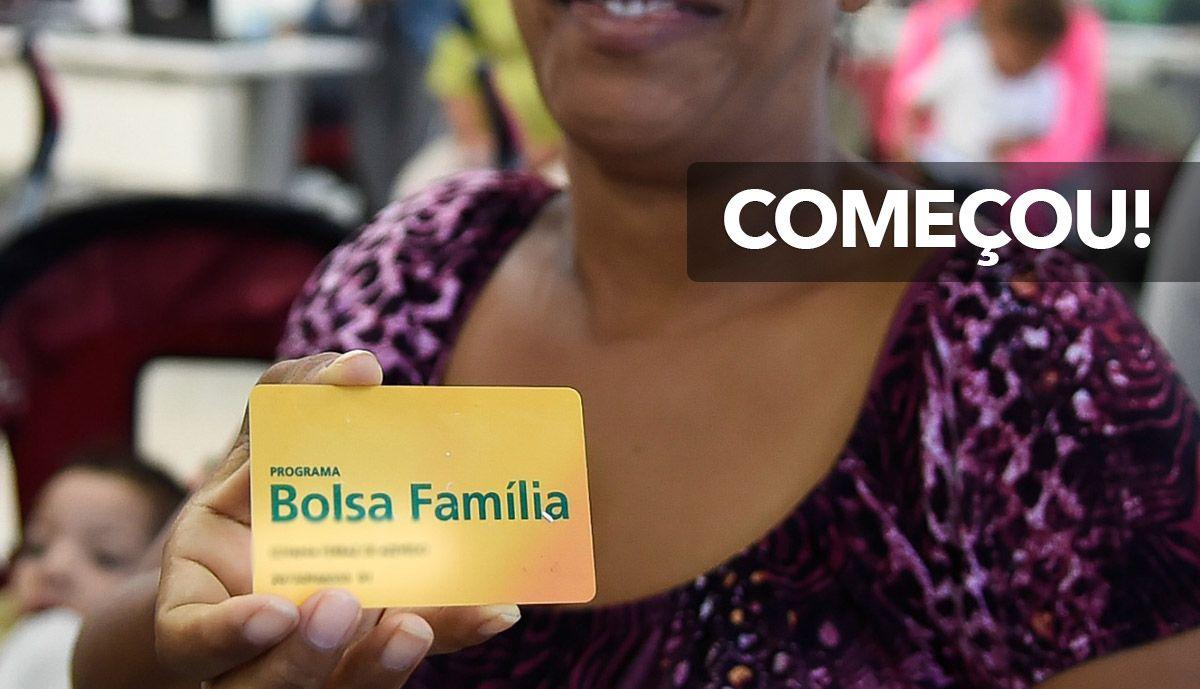 COMEÇOU! PAGAMENTO do BOLSA FAMÍLIA a partir do DIA 18/03
