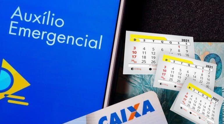 Caixa CONFIRMA: Calendário de PAGAMENTO do NOVO Auxílio Emergencial já está pronto!