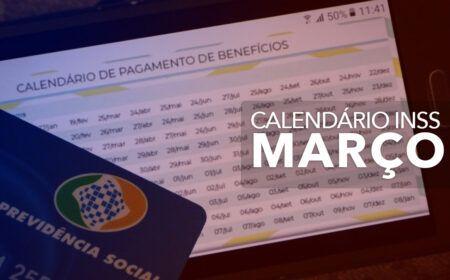 Calendário do INSS 2021 1ª SEMANA de MARÇO: Veja os PAGAMENTOS da SEMANA e do restante do MÊS!