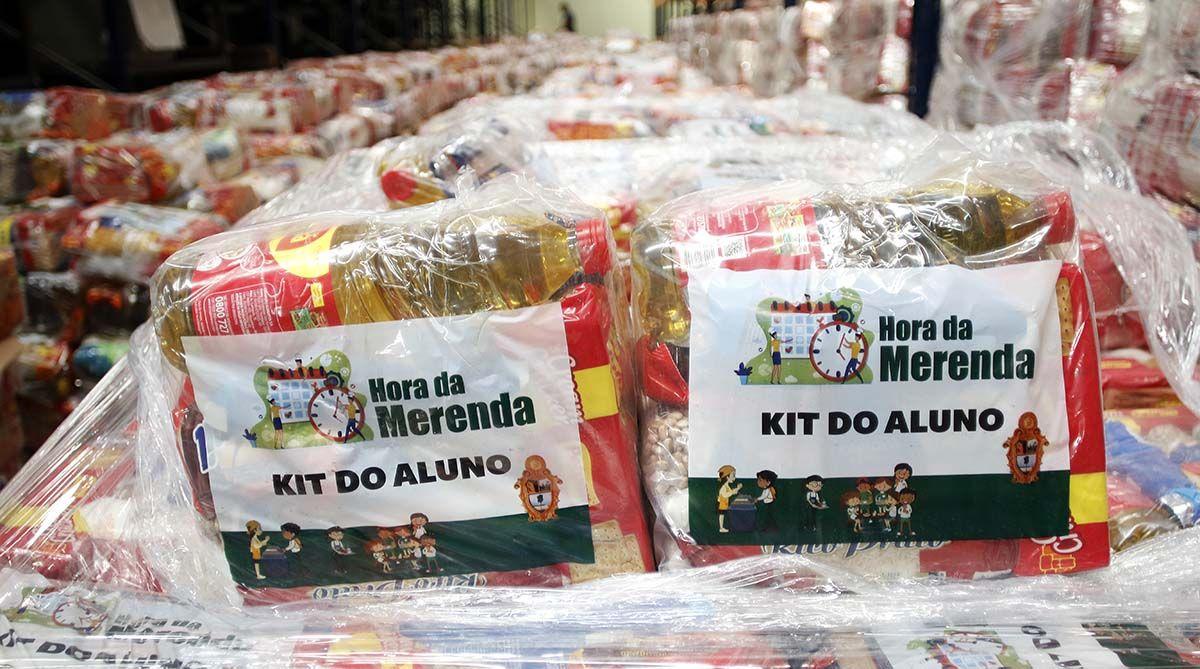 Distribuição de Kits Alimentação e Cartão Merenda em MARÇO
