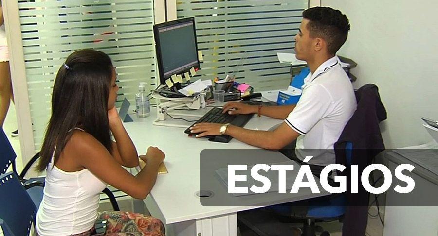 Estágios para ESTUDANTES com BOLSA-AUXÍLIO no VALOR de até R$ 1.050