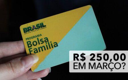 INSCRITOS no BOLSA FAMÍLIA vão RECEBER o Auxílio de R$ 250,00 em MARÇO? Veja o VALOR para CHEFES de FAMÍLIA e como CONSULTAR pelo CPF!