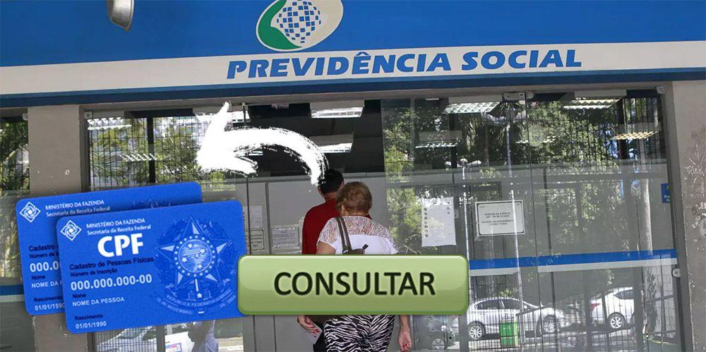 LIBERADA Consulta de BENEFÍCIO do INSS pelo número do CPF