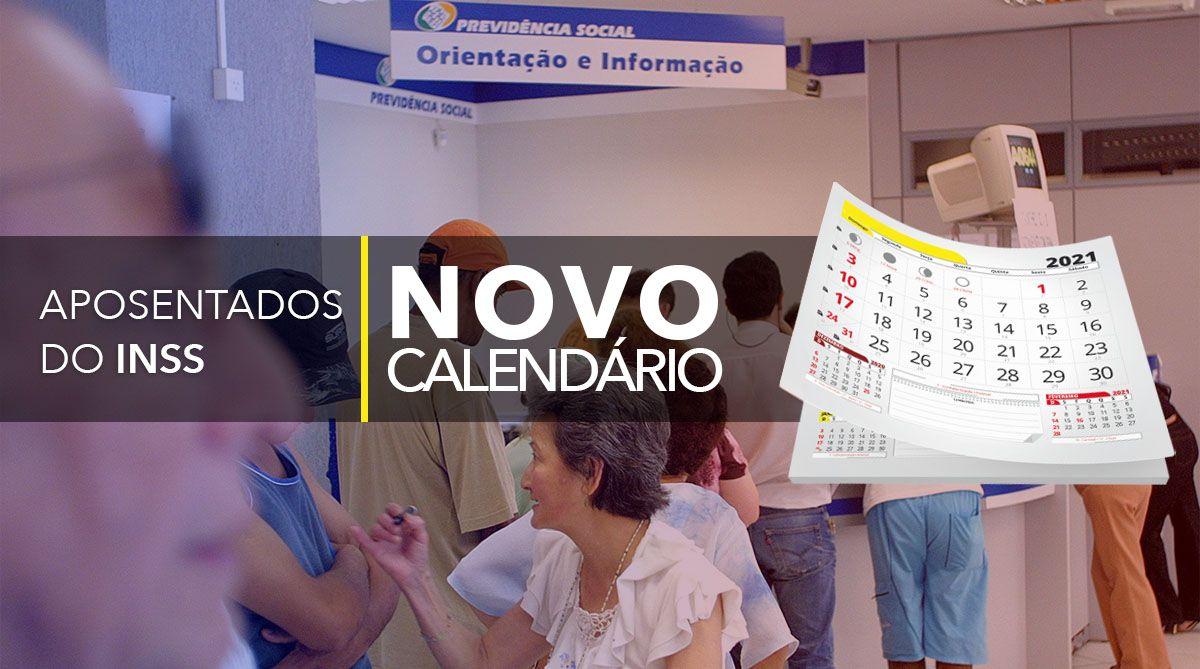 NOVO CALENDÁRIO para APOSENTADOS do INSS em MARÇO