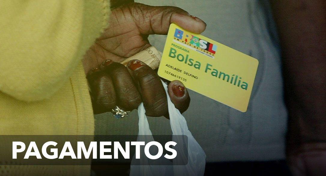 PAGAMENTOS do BOLSA FAMÍLIA do DIA 22 a 31/03