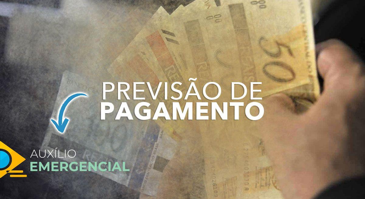 Previsão de PAGAMENTO da 1ª PARCELA do Auxílio Emergencial em MARÇO