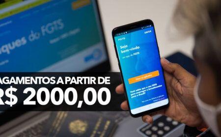 ANTECIPAÇÃO do FGTS garante PAGAMENTO a partir de R$ 2.000 na conta: Veja como SOLICITAR o SAQUE!