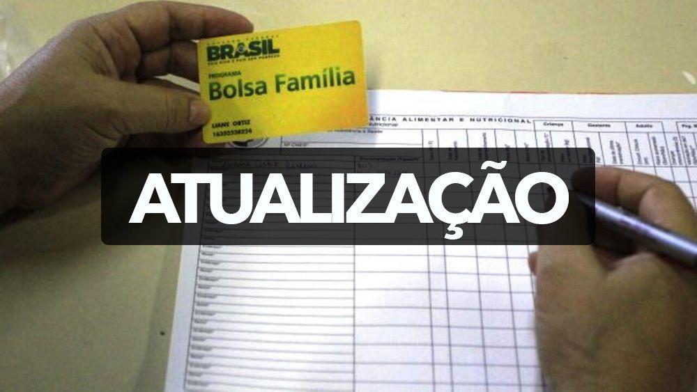 ATUALIZAÇÃO NECESSÁRIA no BOLSA FAMÍLIA 2021