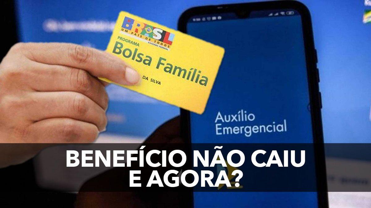Auxílio Emergencial NÃO CAIU e BOLSA FAMÍLIA BLOQUEADO no APP