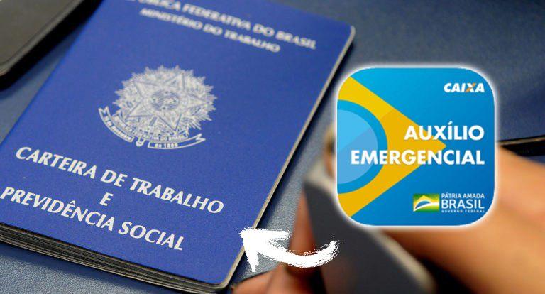 Auxílio Emergencial é LIBERADO para TRABALHADOR com CARTEIRA ASSINADA