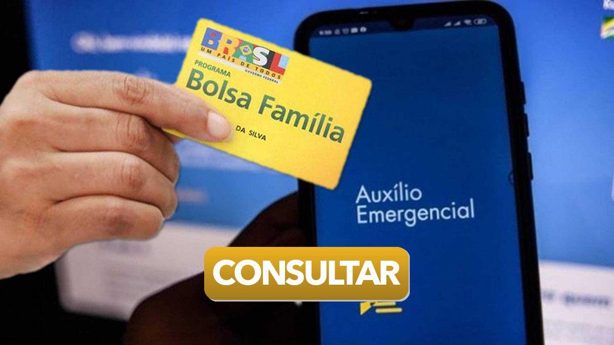 BOLSA FAMÍLIA libera CONSULTA para quem VAI RECEBER o Auxílio Emergencial