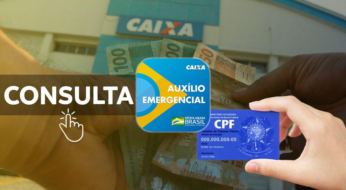 COMEÇARAM as CONSULTAS do Auxílio Emergencial de ABRIL pelo CPF