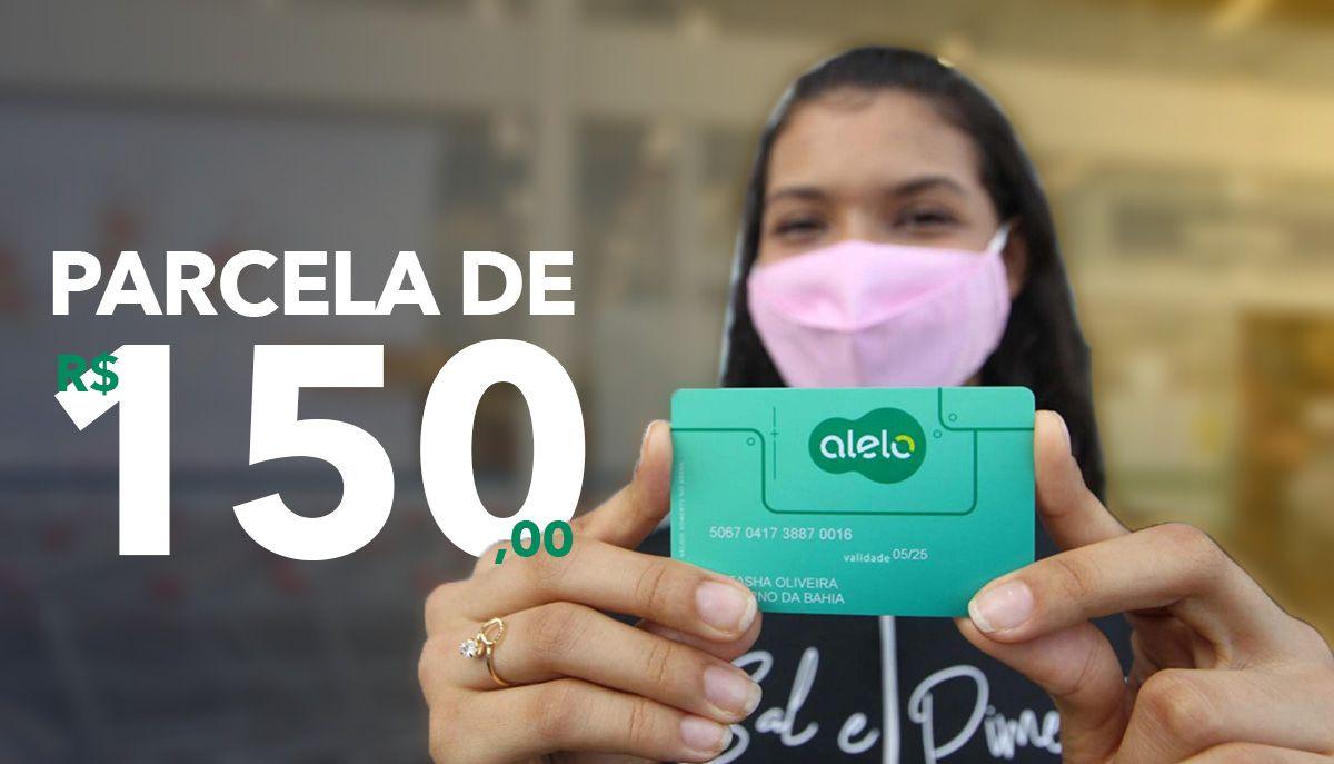 Cadastro Cartão Bolsa Presença: PARCELA de R$ 150,00