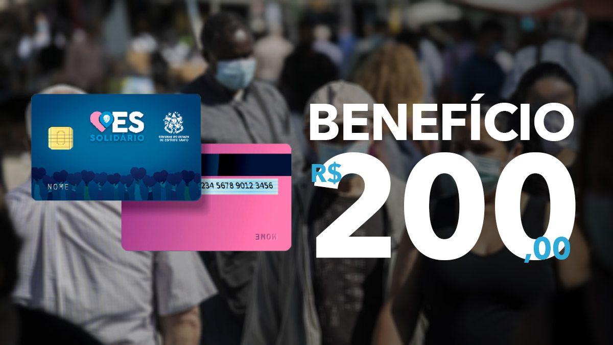 Cadastro Cartão ES Solidário: Benefício de R$ 200,00
